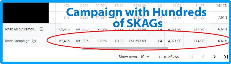 Google Ads SKAGS (Single Keyword AdGroups) is Still Good!